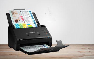 A WorkForce ES-400 Conta com Organização de Maneira Rápida e Eficiente Para os Seus Documentos